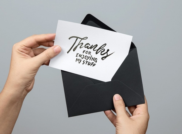 Smart Greeting Card Mockup