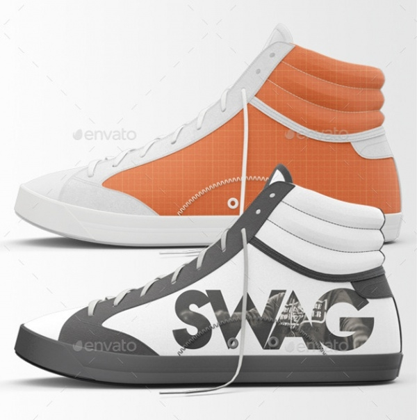 Sneakers Shoes Mockups