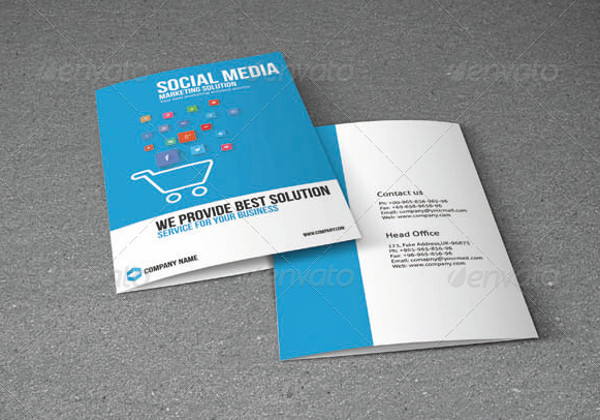Marketing Brochures Social Media Brochures  Freecreatives