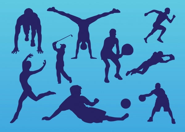 Sport People Vector Art Graphics