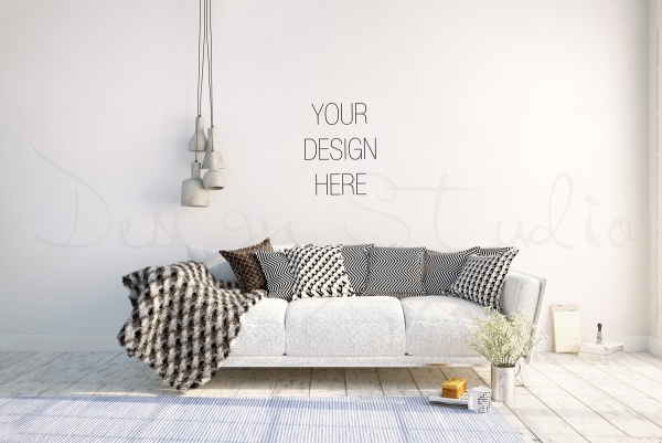 Styled stock Photography interior mockup