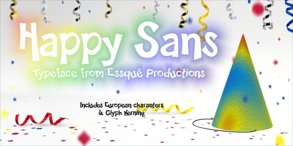 Stylish Happy Sans Font