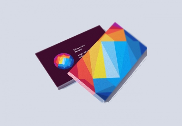 sunset mountain business card