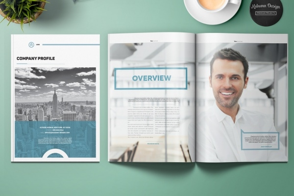 Tako Company Profile Brochure