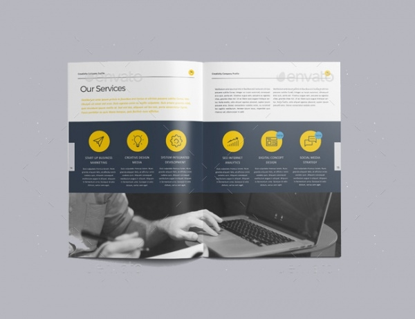 The Company Profile Brochure