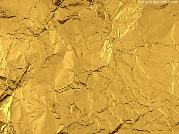 Thin Gold foil texture