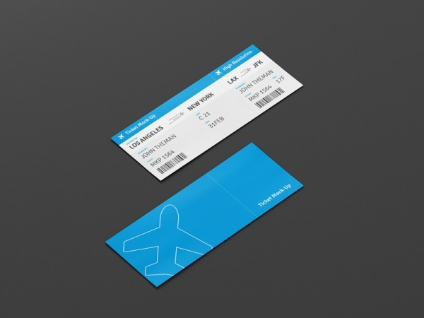 Ticket Design Mock up