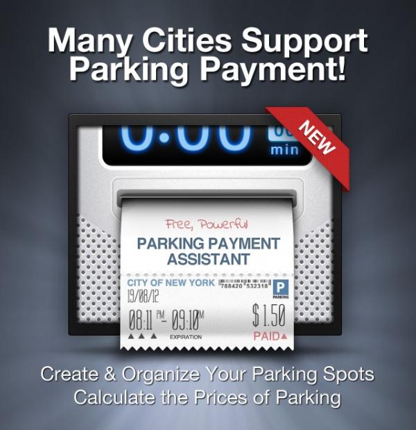 Ticket Payment Mockup Parkbud