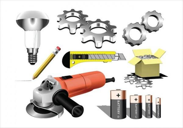 Tool Vectors & Gear Vectors
