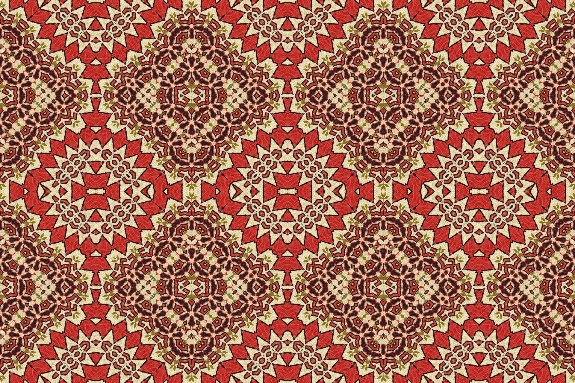 Turkish Carpet Textile Pattern
