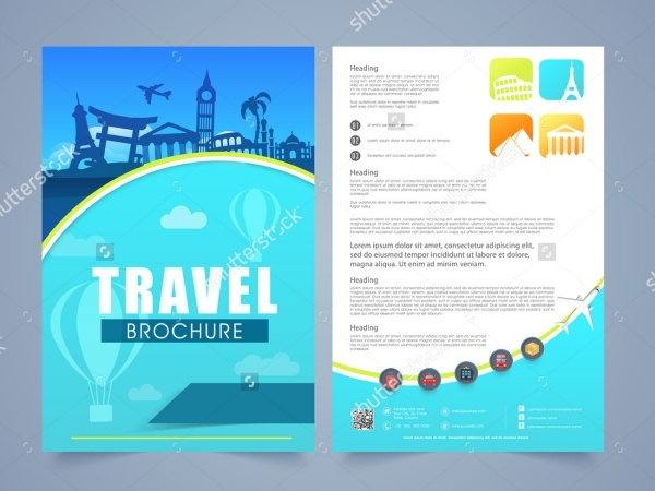 Two Page Travel Brochure