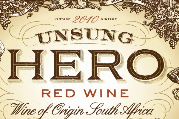 Unsung Hero Wine Label Design