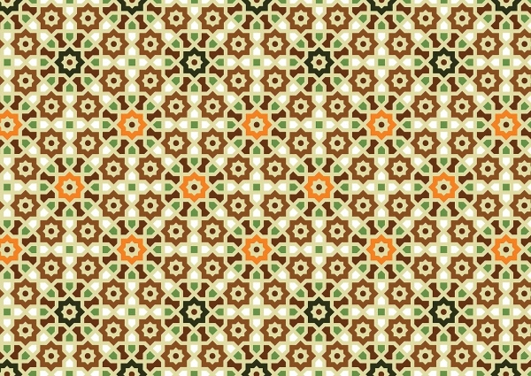 Vector Islamic Art Pattern