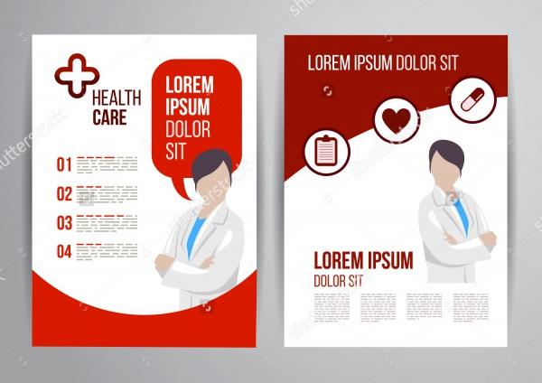 Vector health care brochure