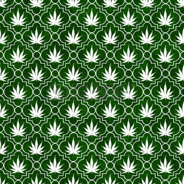 Vintage Wrapping weed Pattern BAckground