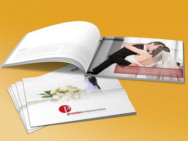 Wedding Brochure Design Services