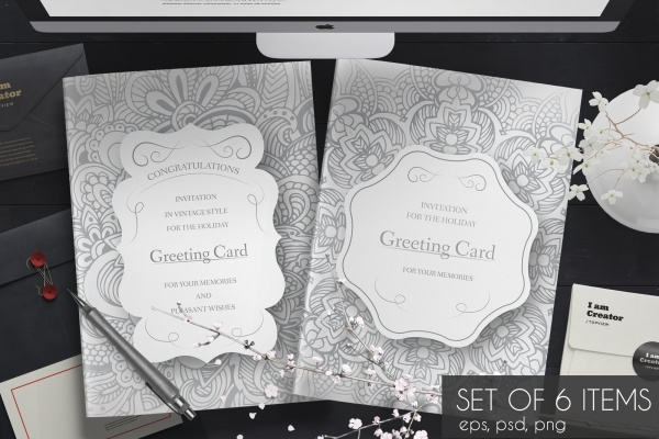 Wedding cards Brochure Design