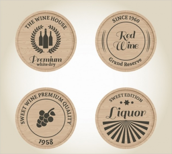 Wine & Liquor Labels Designs