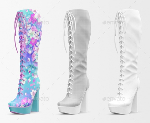 Woman Shoes Mockup Edition