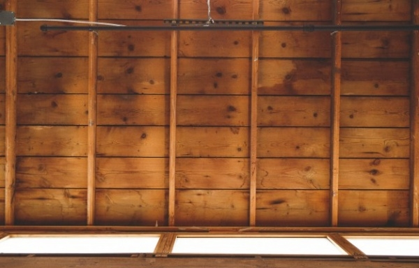 Wooden ceiling Texture