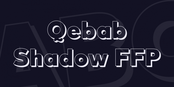 block alphabet font Character