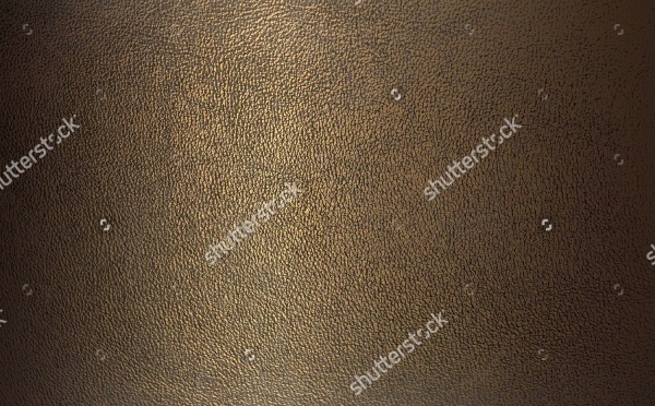 bronze color leather close-up texture