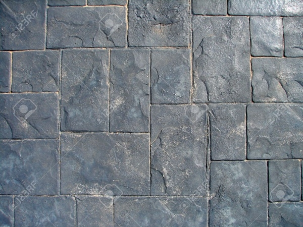 Gray Concrete Floor Tiles Texture