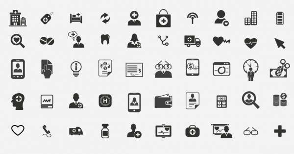 health care insurance Icons