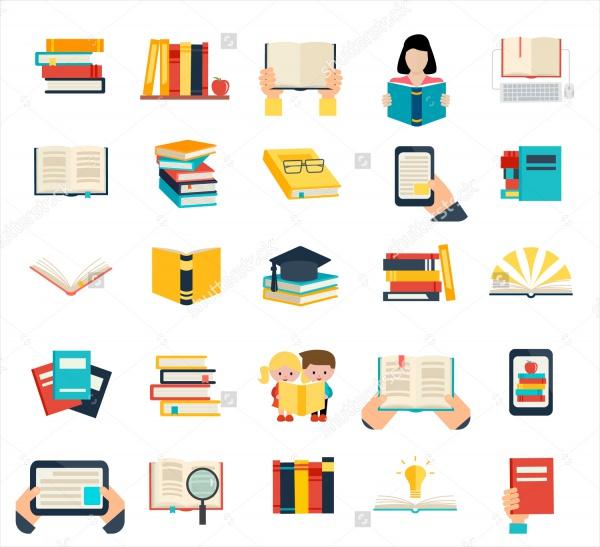 illustration Book Vector