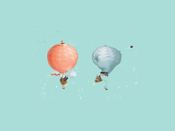 illustration Vector Balloons