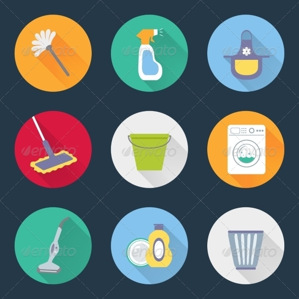 15 Cleaning Icons Housekeeping Freecreatives