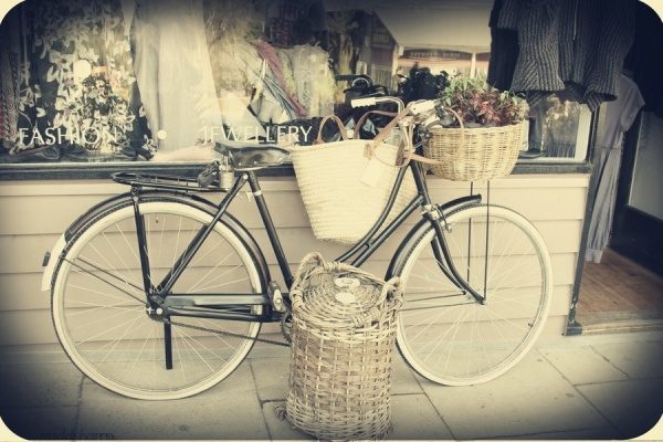 lovely vintage bicycle