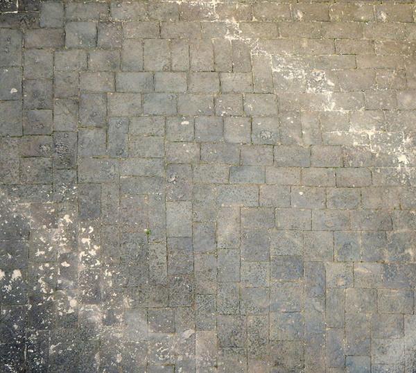 medieval black lava tiles Texture