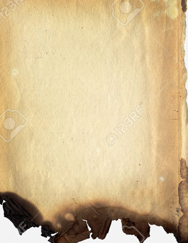 Burnt paper texture.BAckground