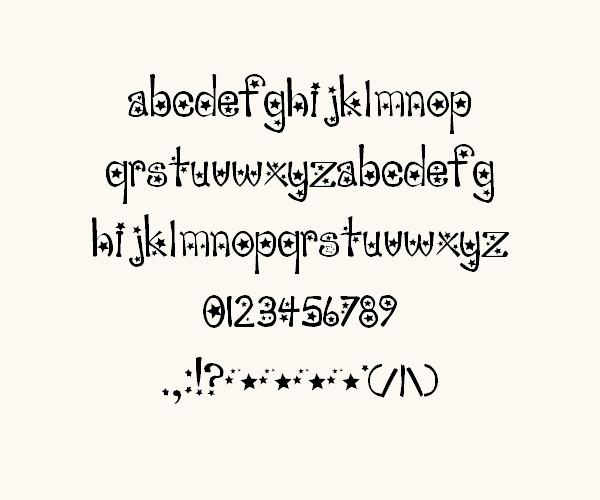 sabrina novelty font