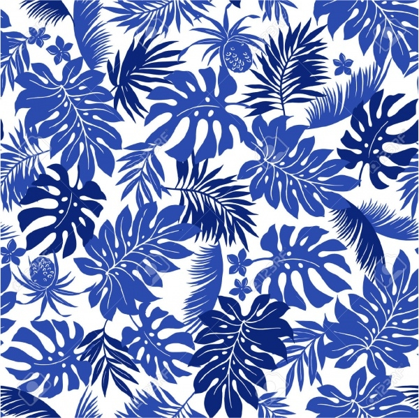 tropical leaf Stock Patterns