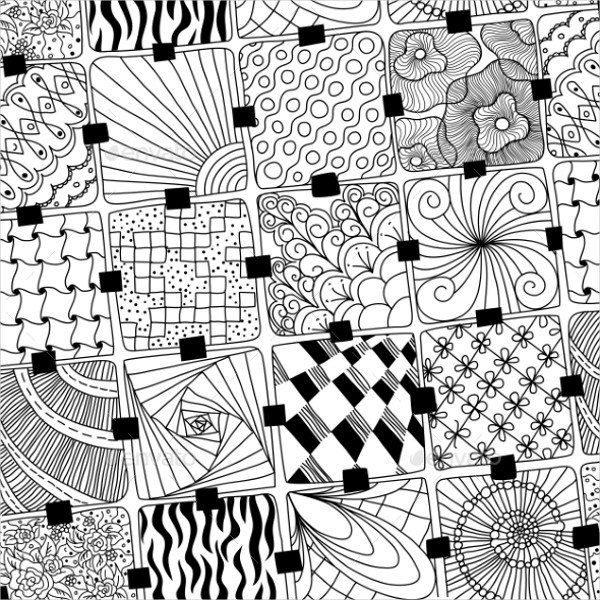 40 Doodle Patterns Photoshop Patterns FreeCreatives Adorable Pattern Doodle