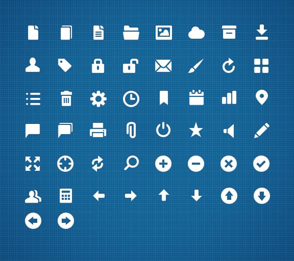 web Ui app icons