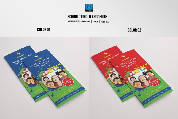 Kindergarten School Brochure