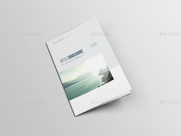 Stylish A4 Bi-fold Brochure Design
