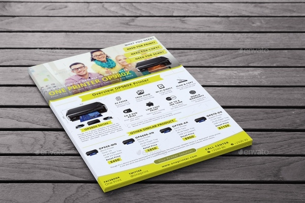 Multipurpose Advertisement Product Flyer