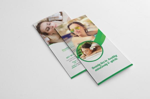Salon Photography Brochure Design