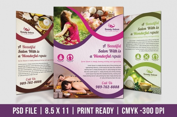 Download Multipurpose Cosmetic Flyer