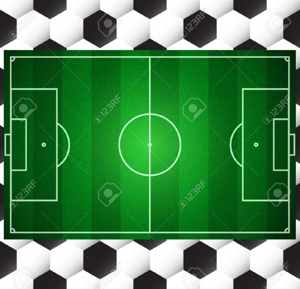 Football Soccer Vector Field Texture