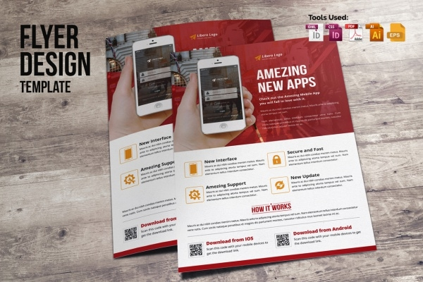 Mobile Apps Promotion Brochure