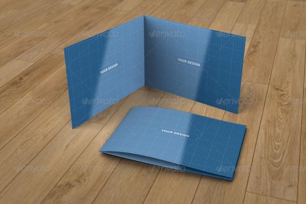 Bi-fold Landscape Brochure Design
