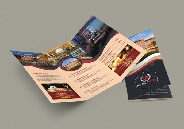 3 Fold Universal Hotel Brochure