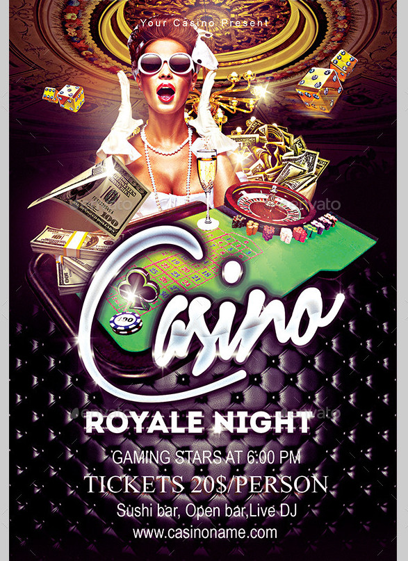 3 in 1 Casino Flyer Bundle