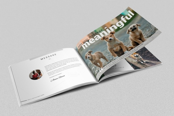 Pet Tri Fold Brochure Template