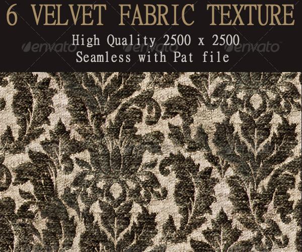 6 Seamless Velvet Tileable Textures